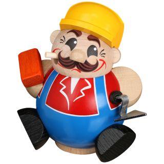 Kugelräuchermännchen Bauarbeiter