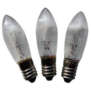 Ersatzlampe für Schwibbogen, 55V / 3W, 3er Set