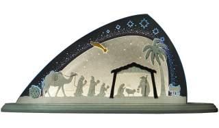 LED Motivleuchte Christi Geburt