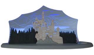 LED Motivleuchte Schloss Neuschwanstein