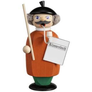 Räuchermännchen Lehrer, 14 cm