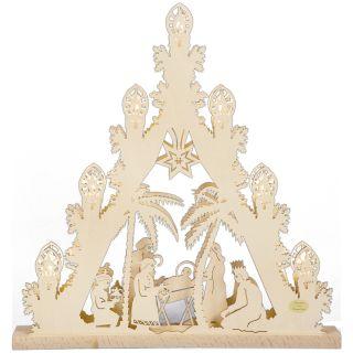 SAICO 3D Lichterspitze Christi Geburt