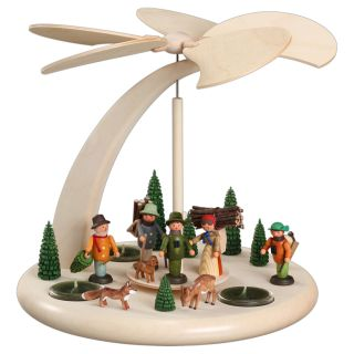 Tischpyramide - Waldleute