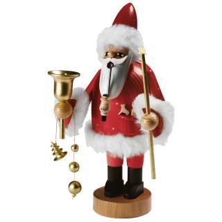 Räuchermann Santa Claus rot