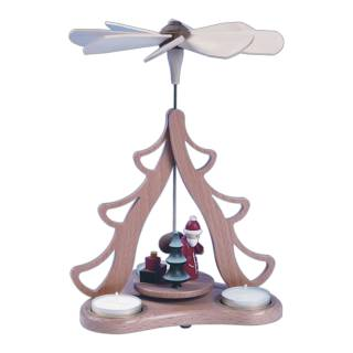 Tischpyramide Weihnachtsmann