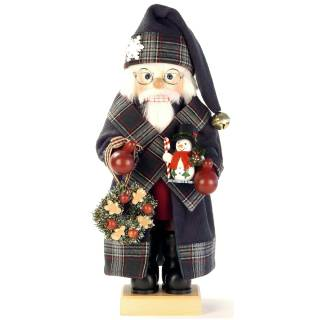 Ulbricht Nussknacker Weihnachtsmann Landhaus grün