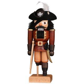 Ulbricht Nussknacker Pirat natur