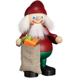 Räuchermännchen Weihnachtsheinzel mit Sack