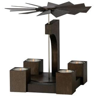 Pyramide Mooreiche ohne Bestückung (19 cm)