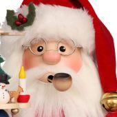 Räuchermännchen Weihnachtsmann rot