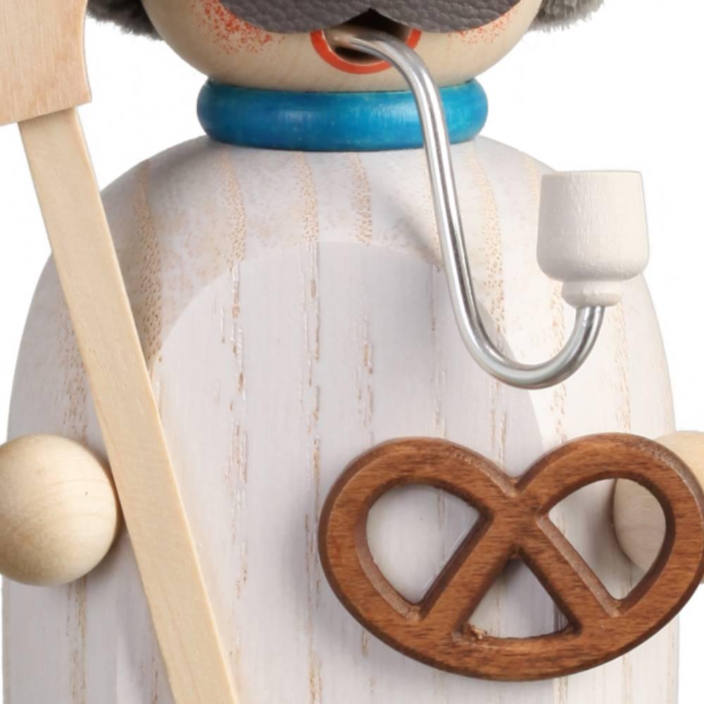 Räuchermännchen Bäcker, 14 cm