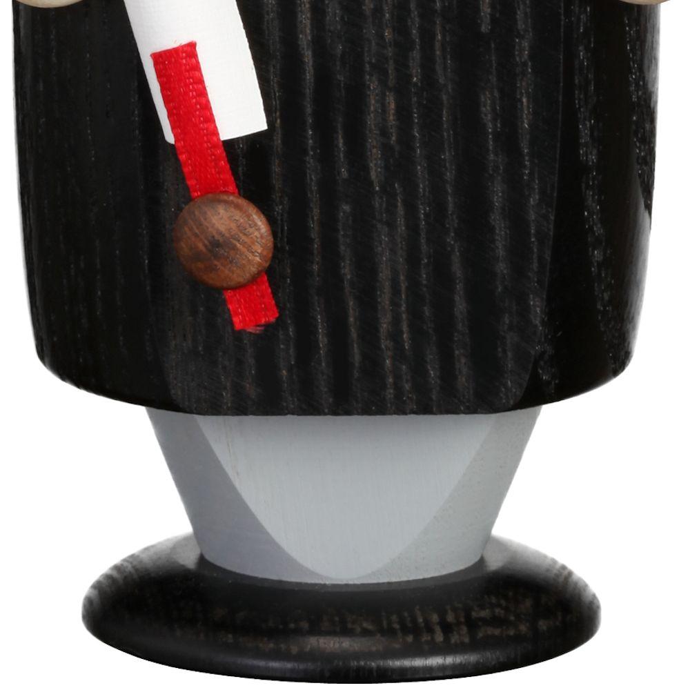 Räuchermännchen Advokat, 14 cm