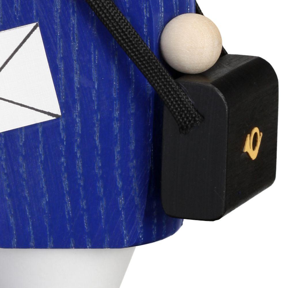 Räuchermännchen Briefträger, 14 cm