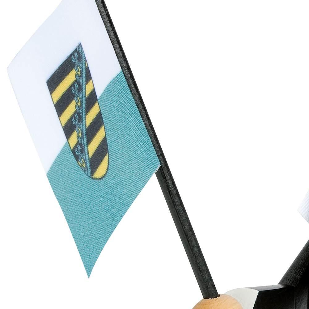 KWO Räuchermann Bergmann mit Fahne