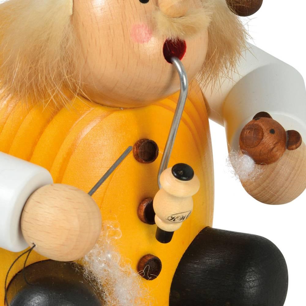 Räuchermännchen Teddymacher