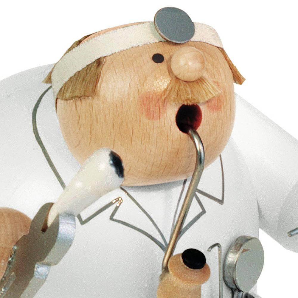 Räuchermann Zahnarzt