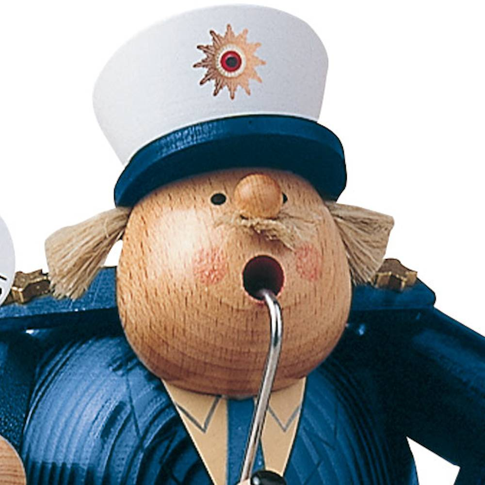Räuchermann Polizist