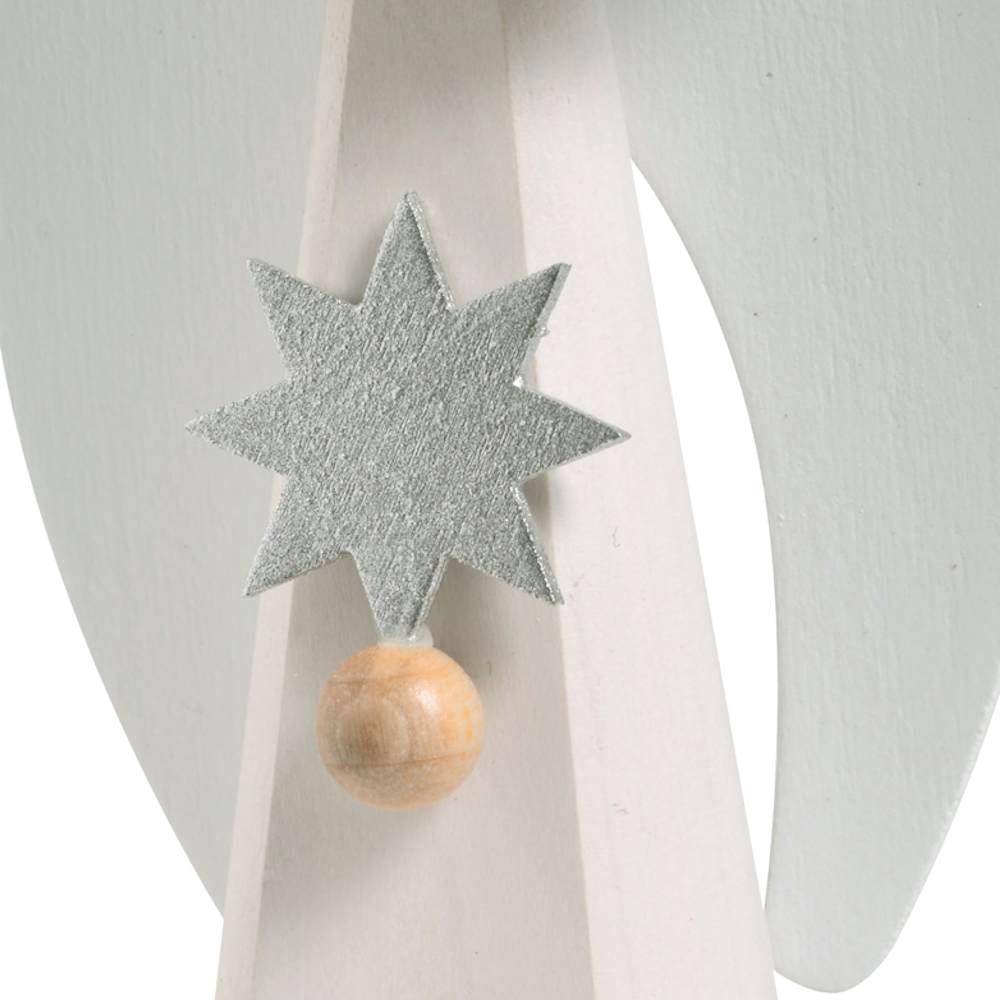 Engel weiss mit Stern (11 cm) von KWO