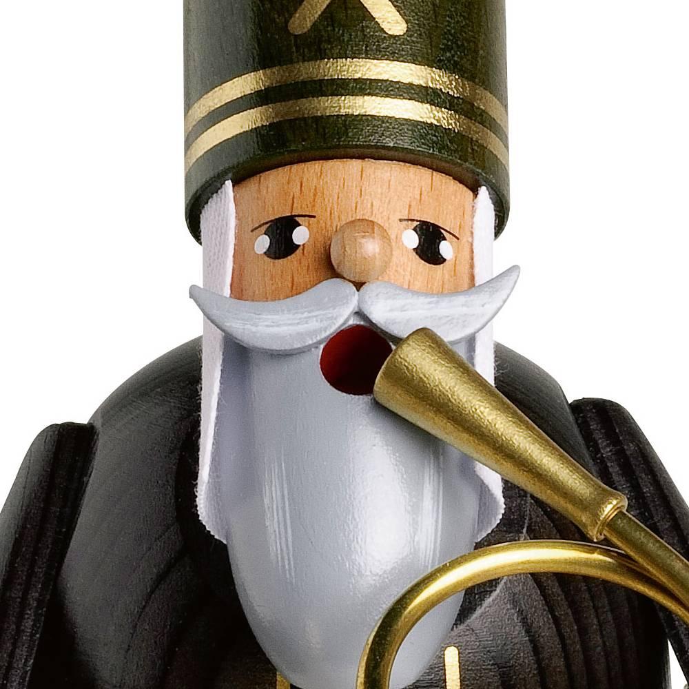Räuchermann Bergmann mit Horn