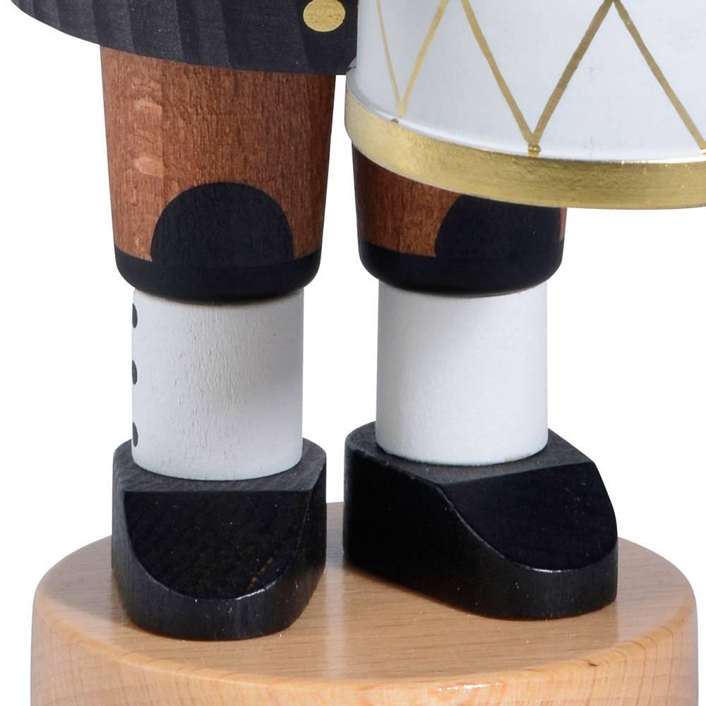 Räuchermann Bergmann mit kleiner Trommel