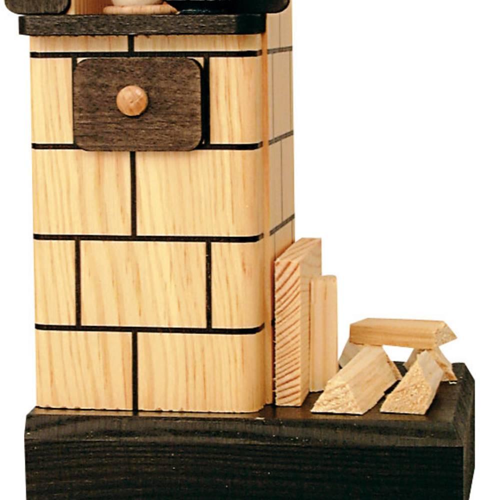 KWO Kachelofen mit Holz, natur
