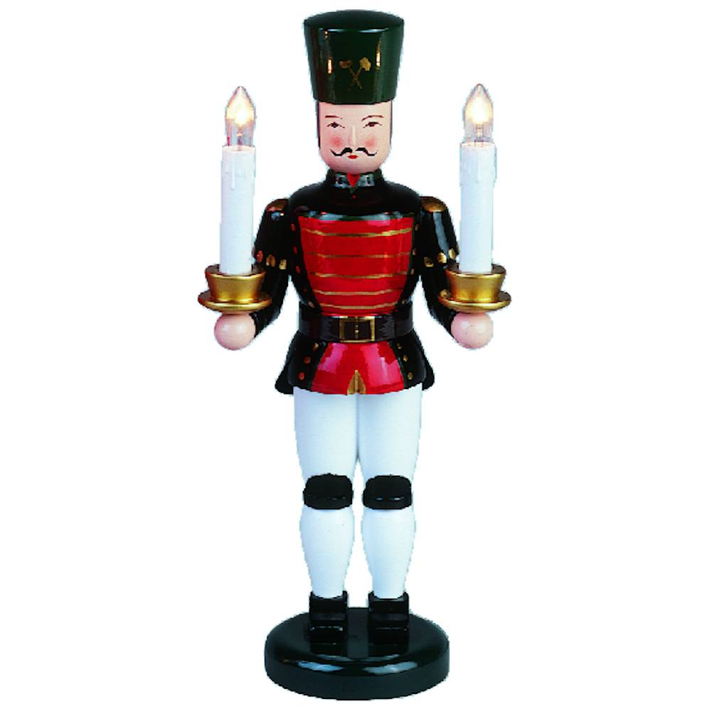 Lichterfigur Bergmann - elektische Kerzen