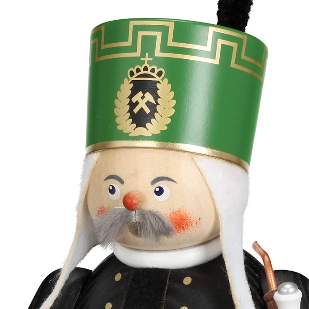 Räuchermännchen Bergmann mit Steigerstock