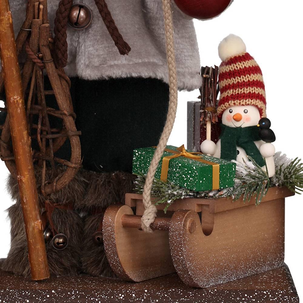 Ulbricht Nussknacker Weihnachtsmann mit Schlitten