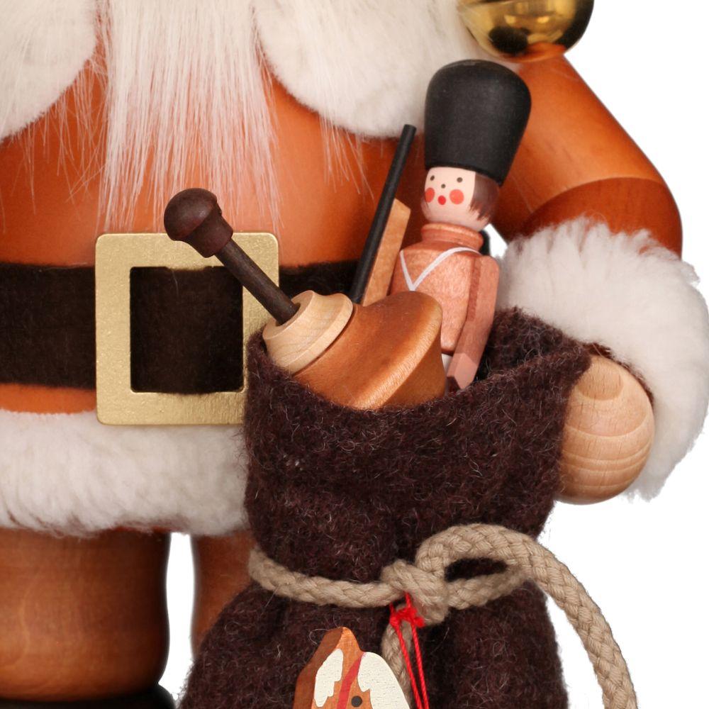 Räuchermännchen Weihnachtsmann natur