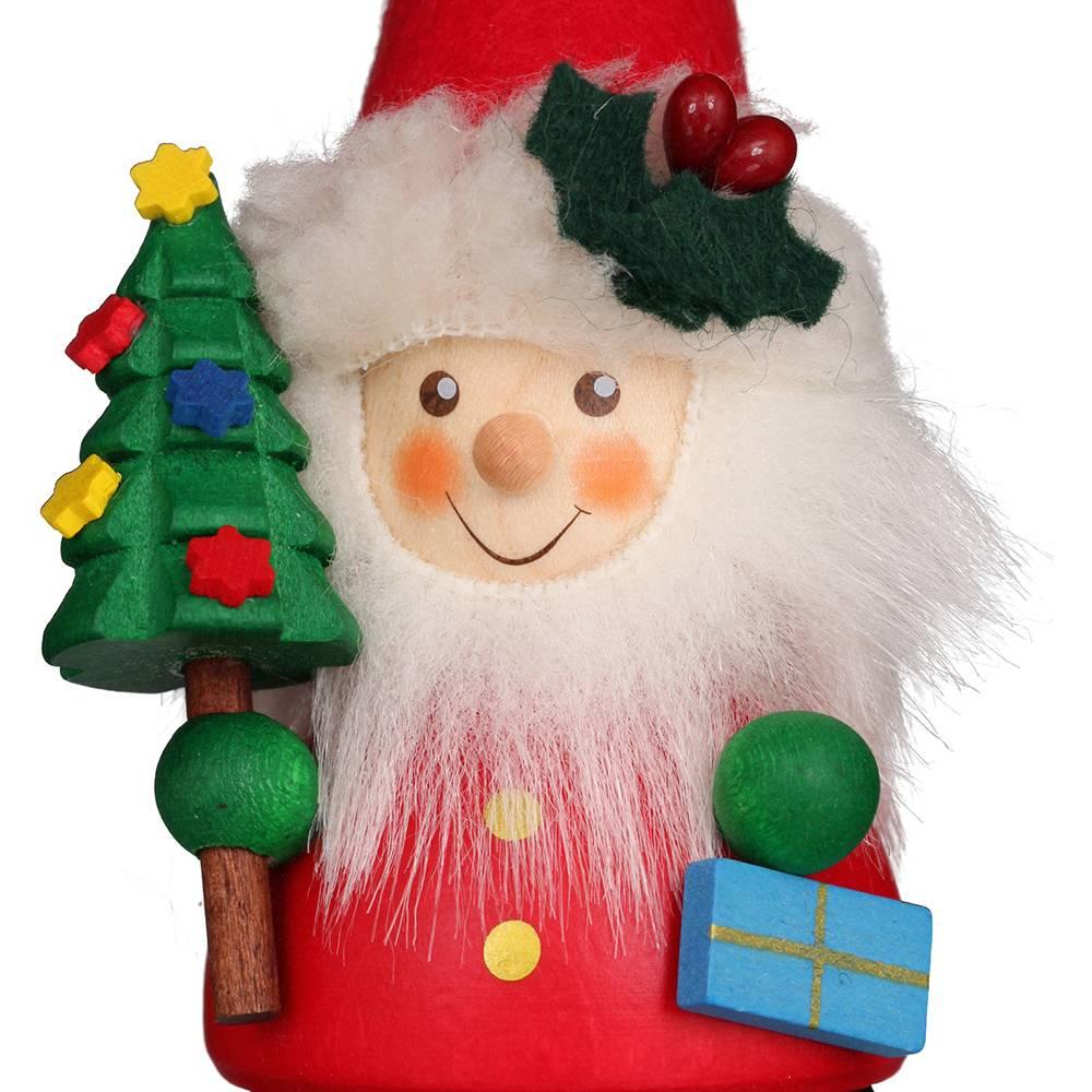 Wackelmännchen Weihnachtsmann mit Baum