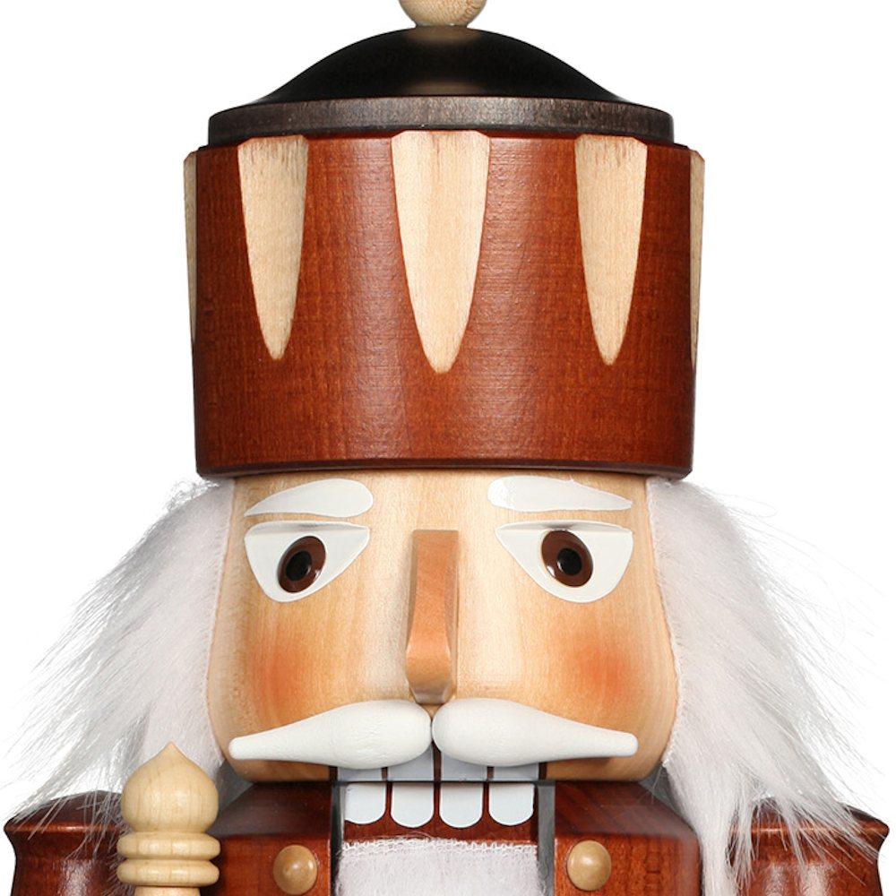 Ulbricht Nussknacker König natur - 38,5 cm