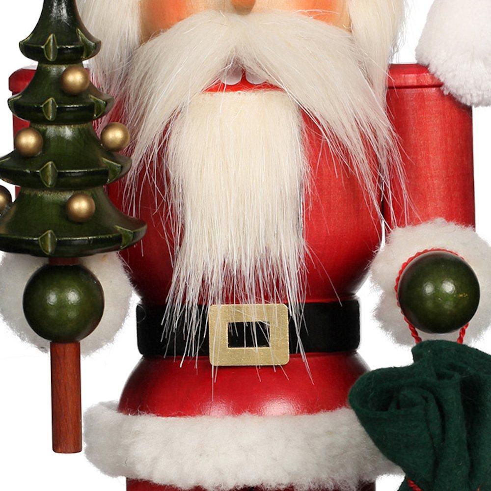 Ulbricht Nussknacker Weihnachtsmann lasiert
