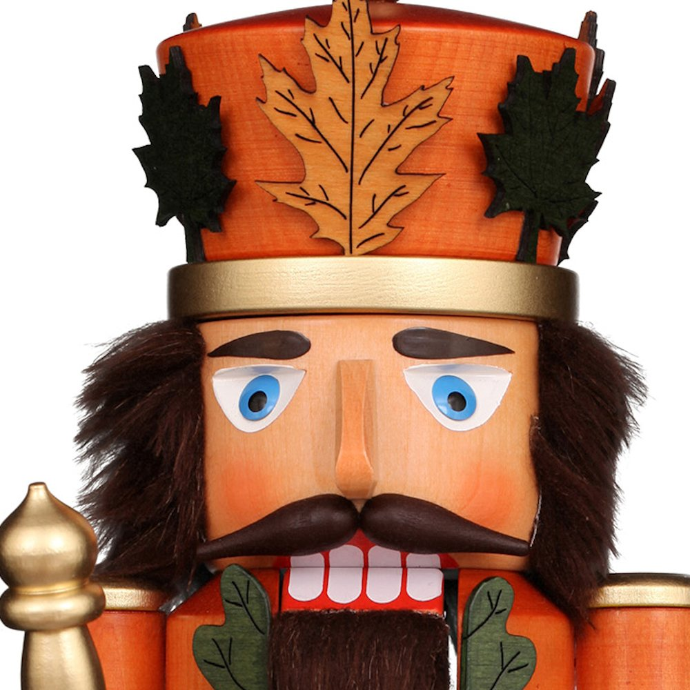 Ulbricht Nussknacker Herbstkönig lasiert