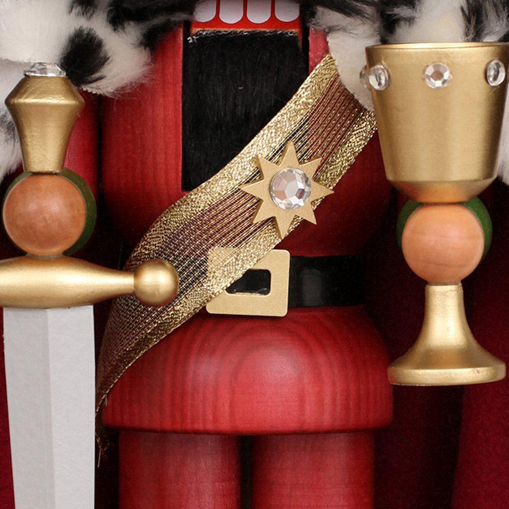 Ulbricht Nussknacker König Arthur lasiert