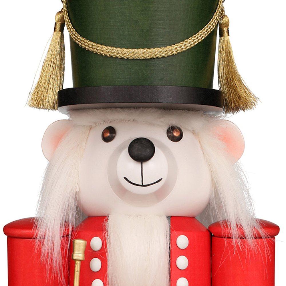 Ulbricht Nussknacker Teddy Jack - Der Polarbär