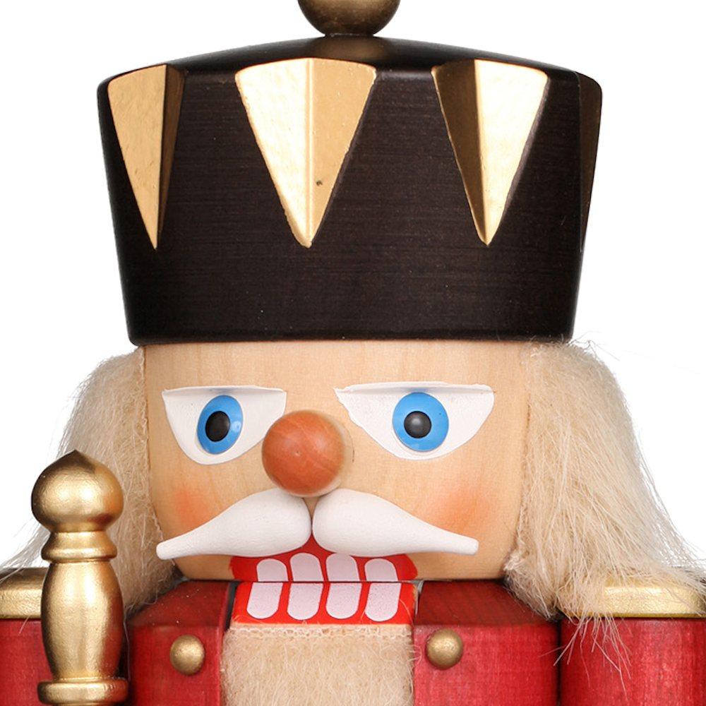 Ulbricht Nussknacker König klein rot