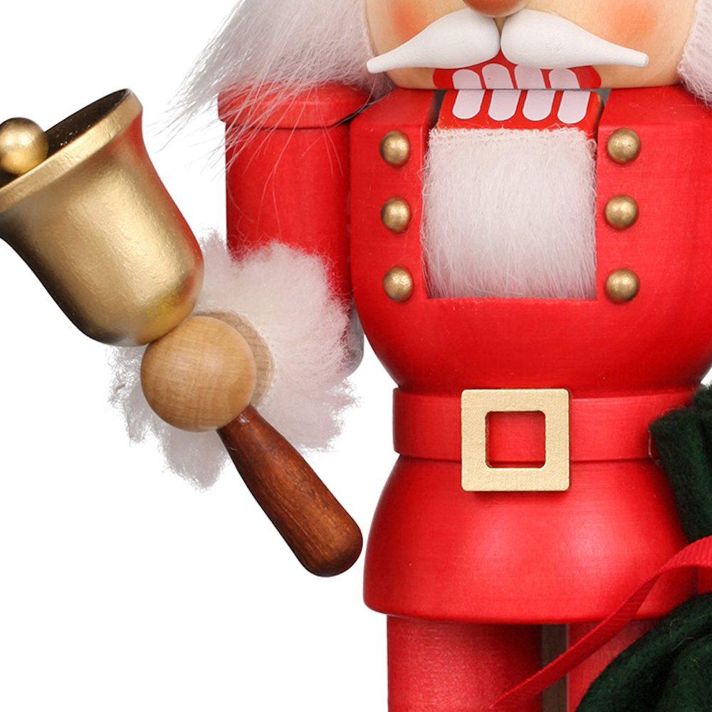 Ulbricht Nussknacker Weihnachtsmann mit Glocke