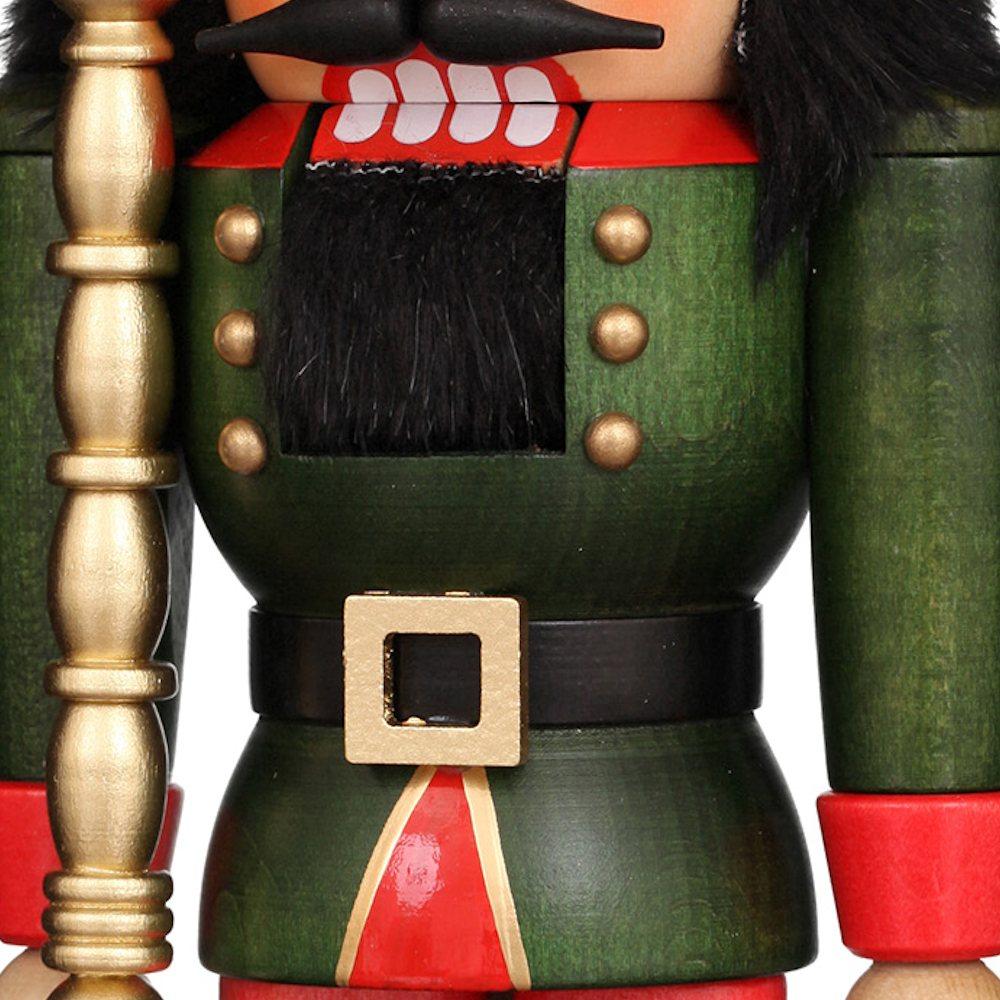 Ulbricht Nussknacker König grün