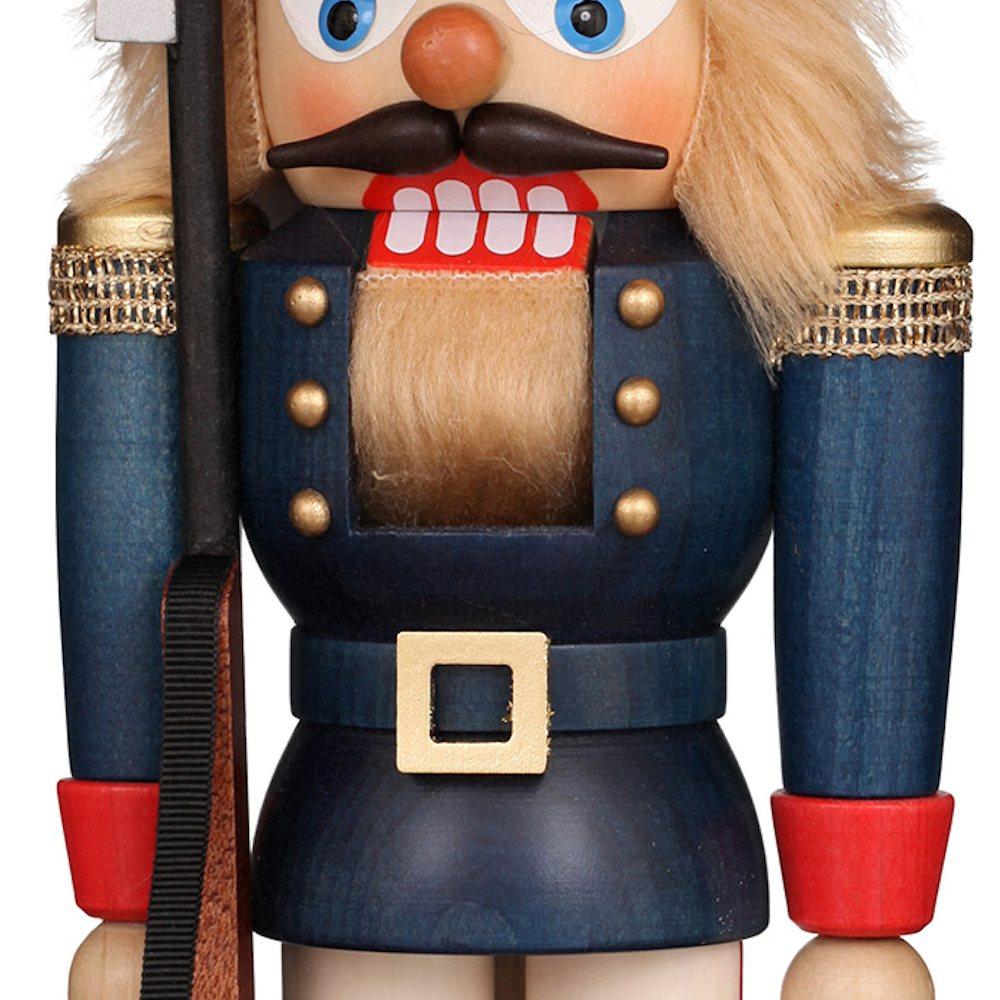 Ulbricht Nussknacker Soldat blau