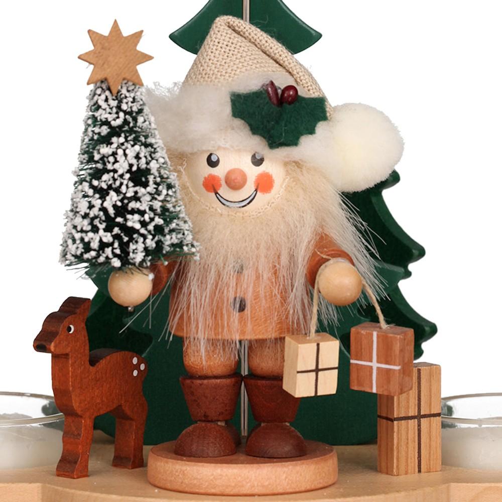 Pyramide Weihnachtsmann (19,5 cm)