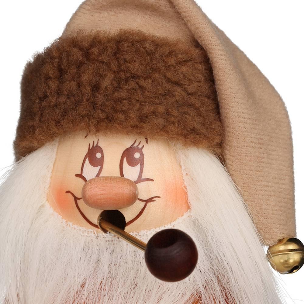 Räuchermännchen Miniwichtel Weihnachtsmann mit Päckchen
