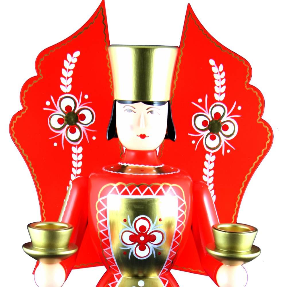 Lichterfigur Engel rot, groß