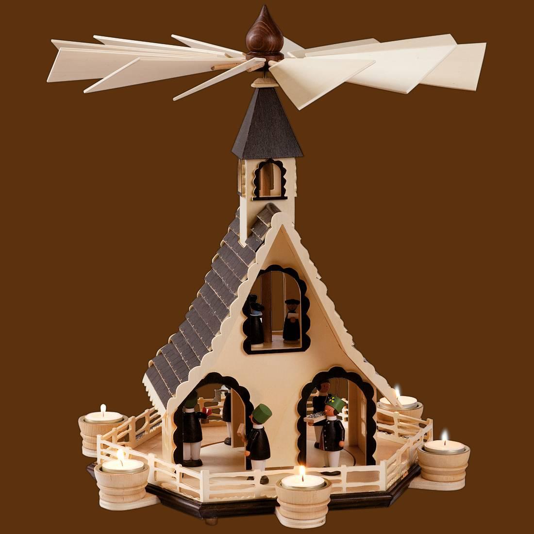 Hauspyramide Bergmänner