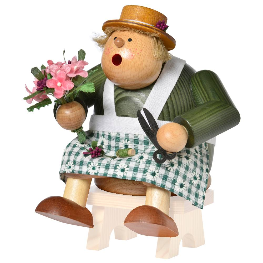 Kantenhocker Floristin