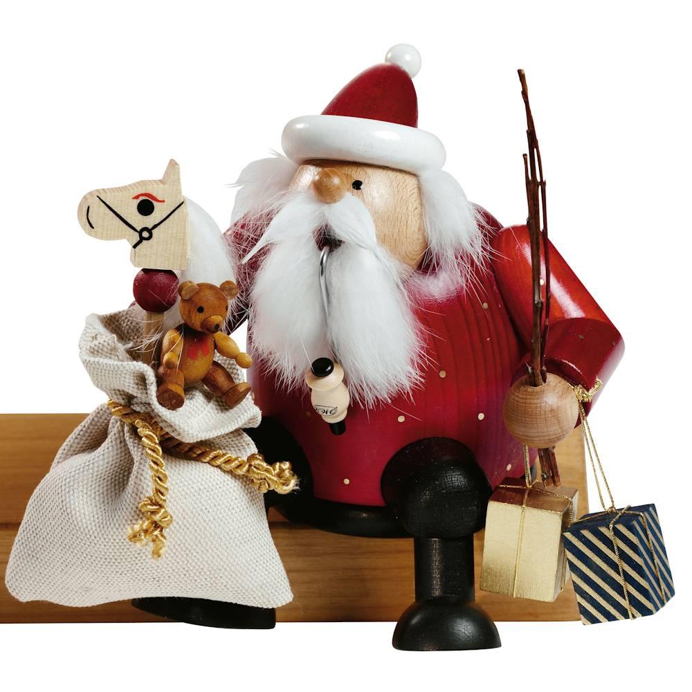 Kantenhocker Weihnachtsmann
