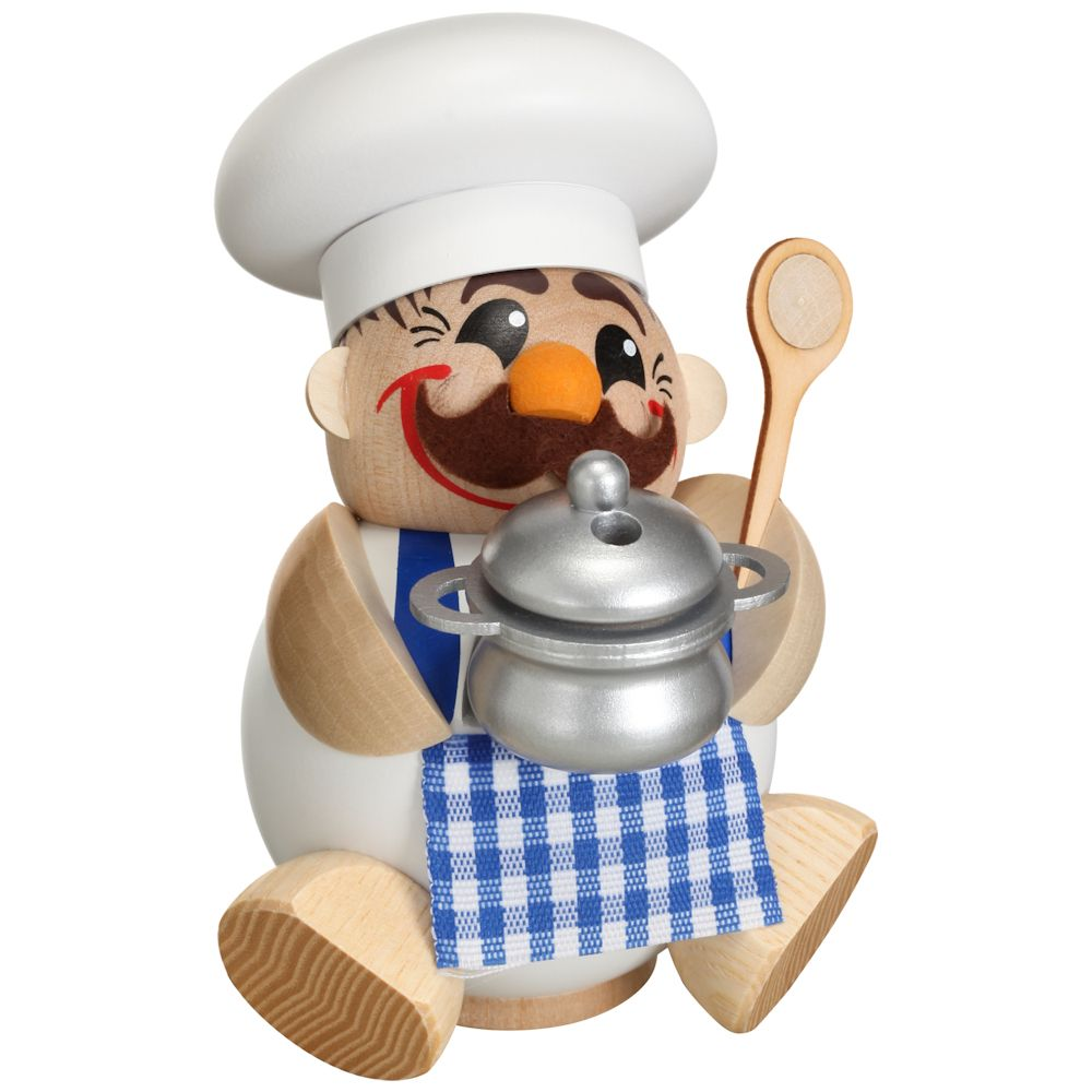 Kugelräucherfigur Koch