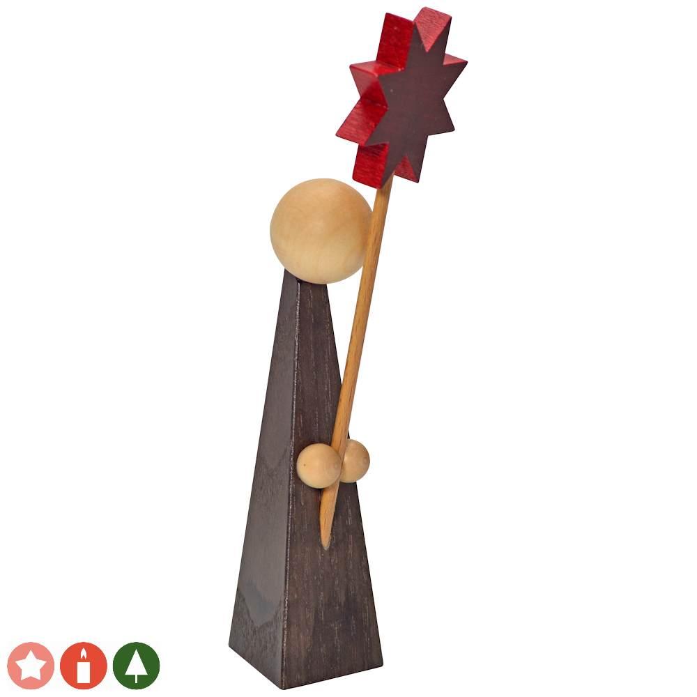 Kurrendefigur mit Stern (15 cm) von KWO