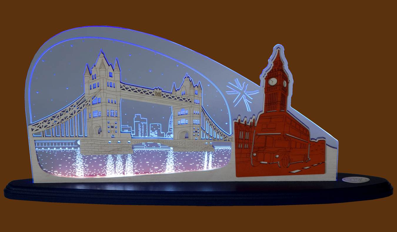 LED Motivleuchte London