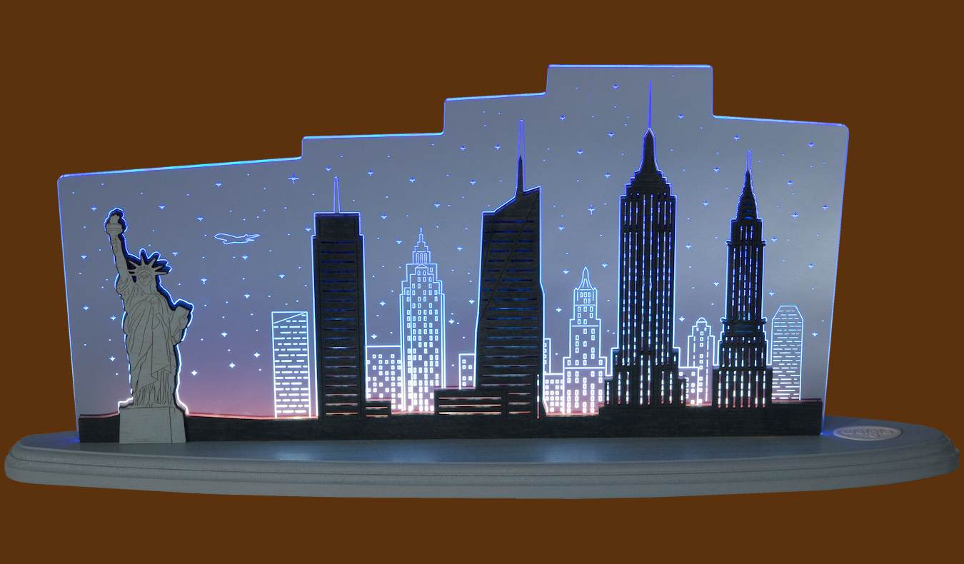 LED Motivleuchte New York