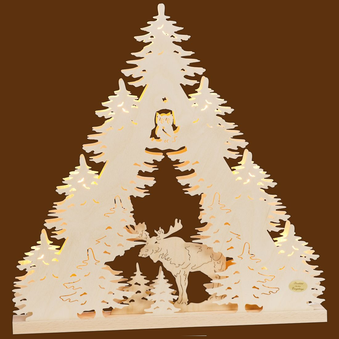 SAICO 3D Lichterspitze Elch